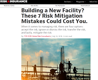 Building a New Facility? These 7 Risk Mi...