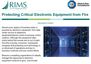 Protecting Critical Electrical Equipment...